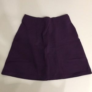 NWOT H&M Purple Skirt